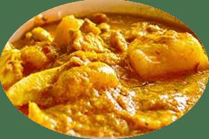 Massaman Curry Rezept mit Huhn und frischer Ananas
