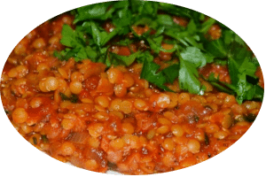 rotes Linsen Curry